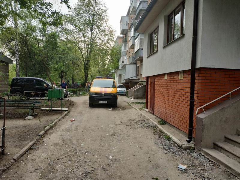 Вибух газу стався на вулиці Пушкінська