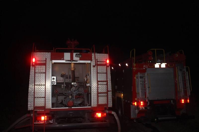 Протягом минулої доби на Хмельниччині сталися дві пожежі