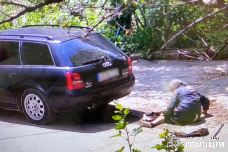 Аварія сталася на вулиці Соборній в Кам'янці-Подільському