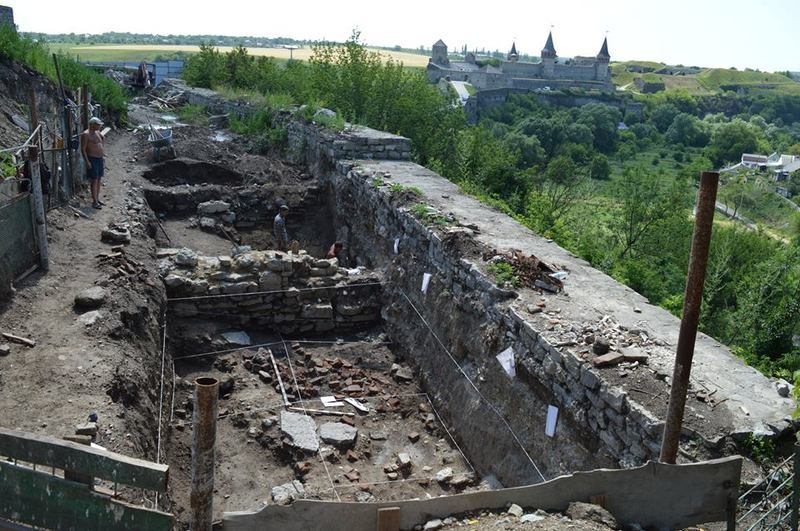 Знайдена вежа була складовою оборонних споруд міста