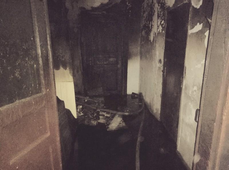 Рятувальники ліквідували пожежу квартири