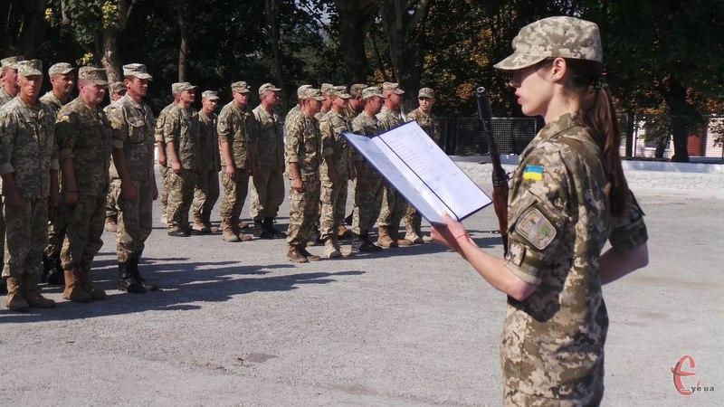 Військовослужбовці присягнули на вірність народові