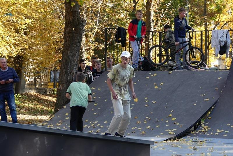 Скейт майданчик уже відкритий для екстрималів