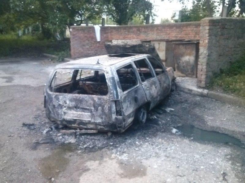 Чому загорівся автомобіль, поки що невідомо