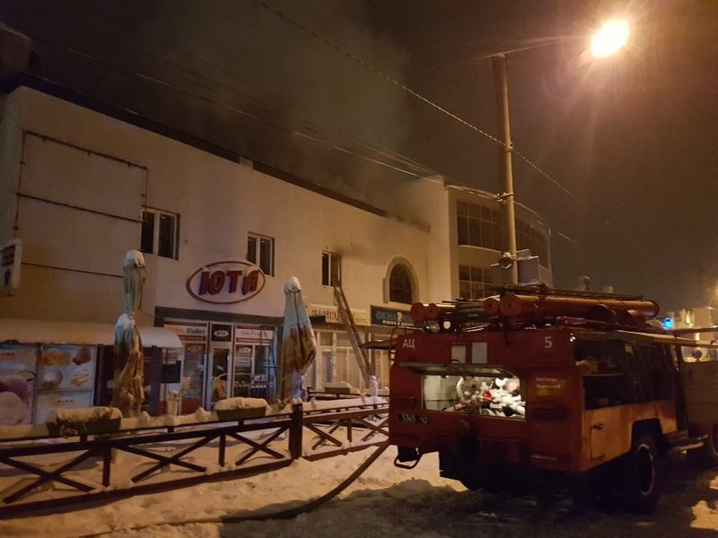 Пожежу ліквідовували вогнеборці 5 та 6 пожежно-рятувальних частин