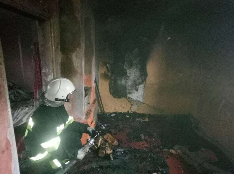 Через пожежу двоє дітей загинуло