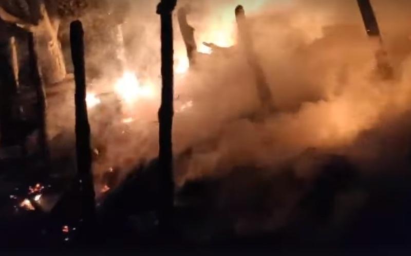 Загоряння сталося вночі