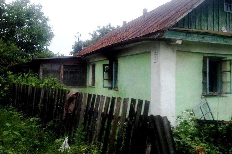 Горів будинок у Слобідці-Чернелівській