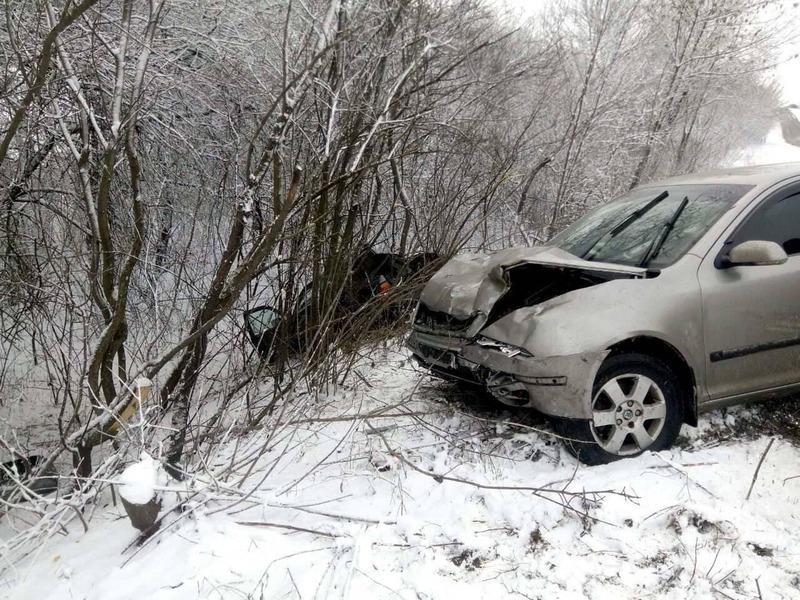 Аварія сталася в селі Мотрунки Красилівського району