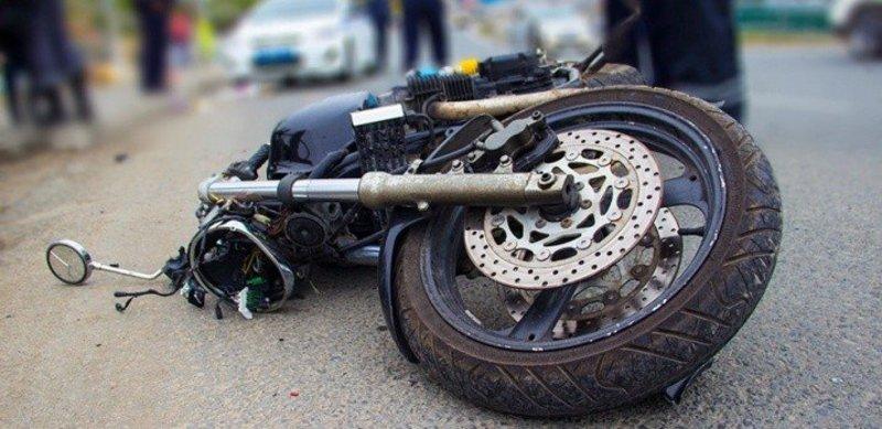 Мотоцикліст не впорався з керуванням