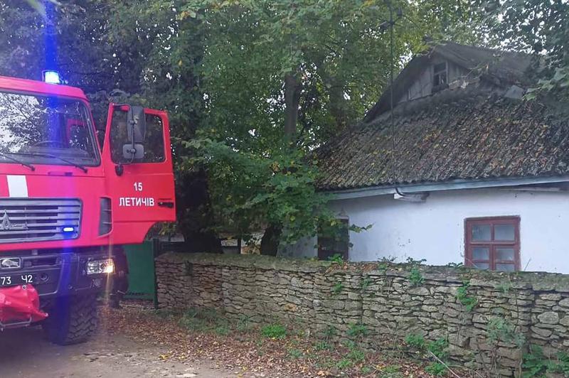 Працівники ДСНС врятували житловий будинок від знищення вогнем