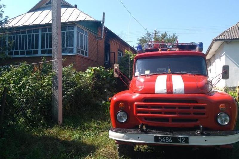 Потерпілих на пожежі не виявлено