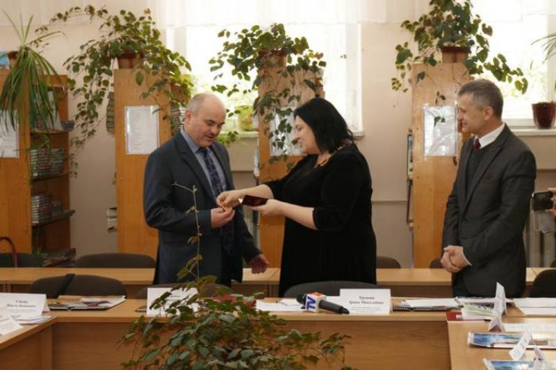 Ігоря Світака нагородили медаллю