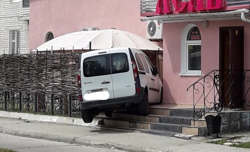 Аварія сталася у Нетішині на провулку Незалежності