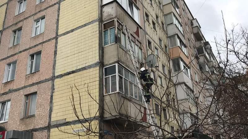 Пожежу балкона ліквідували