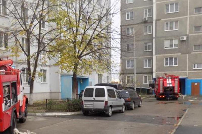 Рятувальники ліквідували пожежу у квартирі дев\'ятиповерхівки