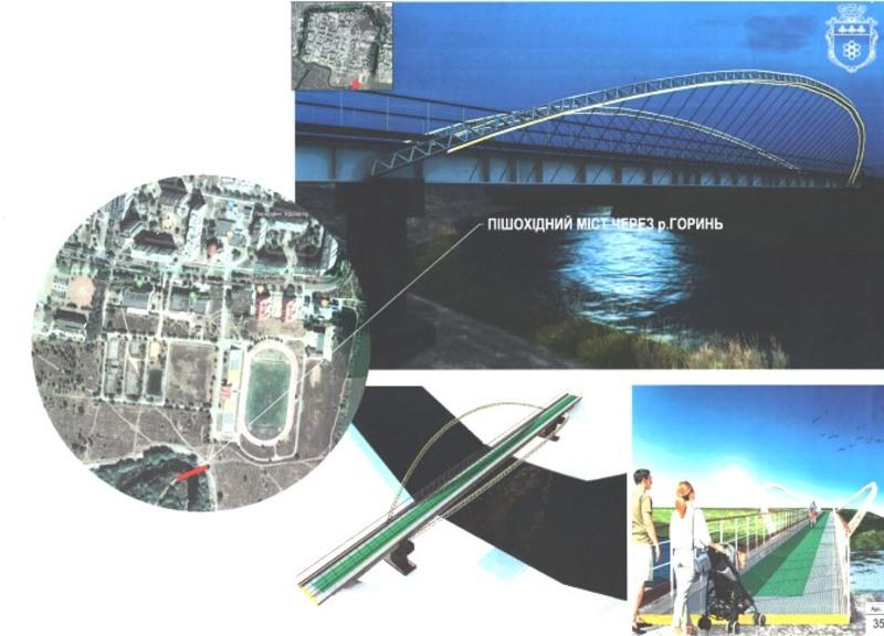 Міст через річку Горинь планують побудувати у Нетішині
