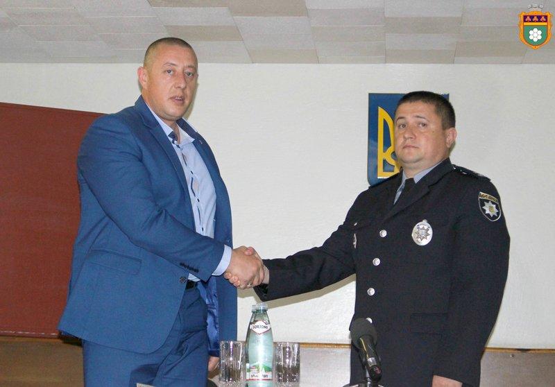 Нового очільника поліції в Нетішині представили 15 червня.