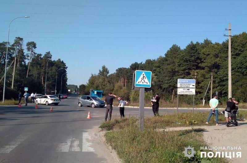 На Хмельниччині поліцейські встановлюють обставини ДТП, у результаті якої загинув 23-річний мотоцикліст