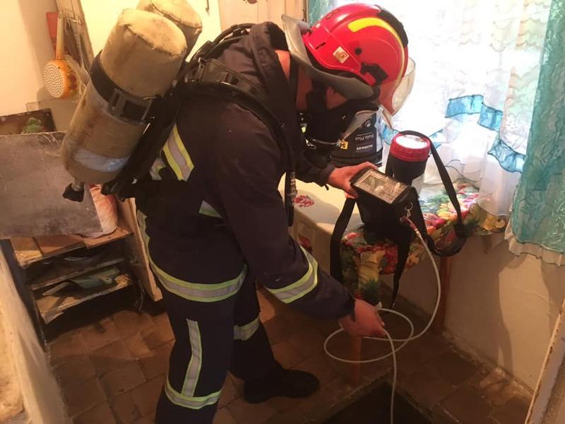 ДСНС-ники додають, що в приміщенні підвалу зробили заміри повітря