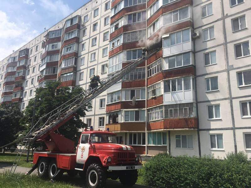 Пожежа виникла в будинку на вул. Михайлова, 24