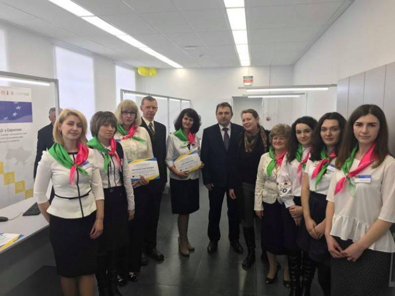 У Новоушицькій об'єднаній територіальній громаді відкрився Центр надання адміністративних послуг