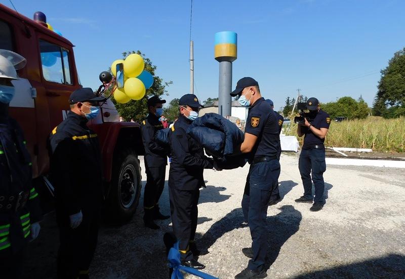 У Новоушицькій громаді відтепер працює шість місцевих пожежних команд