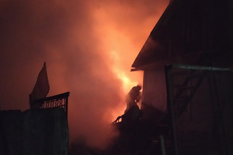 Минулої доби в області сталося дев'ять пожеж