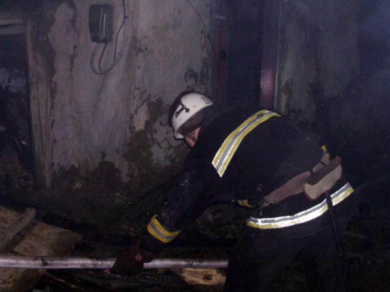 Під час ліквідації пожежі рятувальники виявили тіло 63-річної жінки