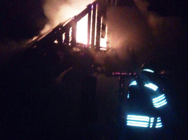 Пожежу гасило четверо пожежників