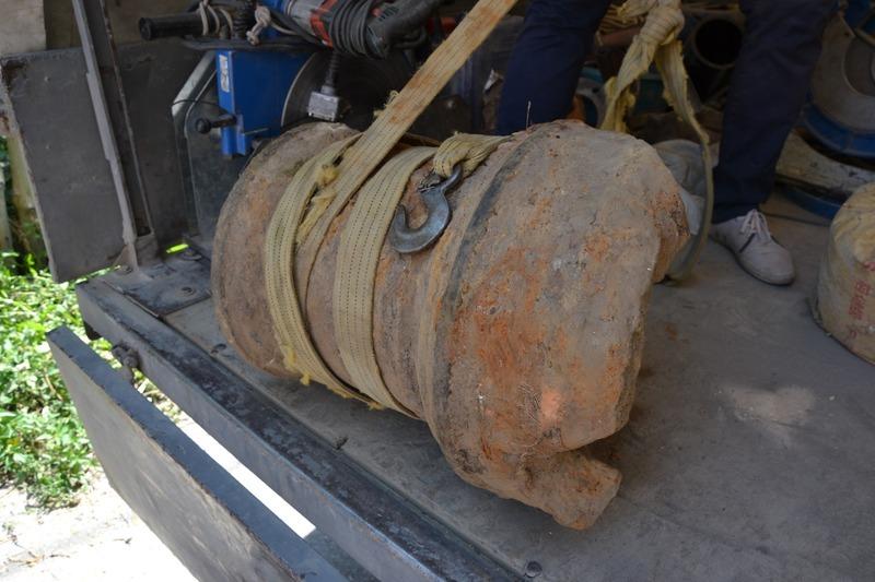 Вага знахідки становить 260 кілограмів і у пункті її оцінили в тисячу гривень