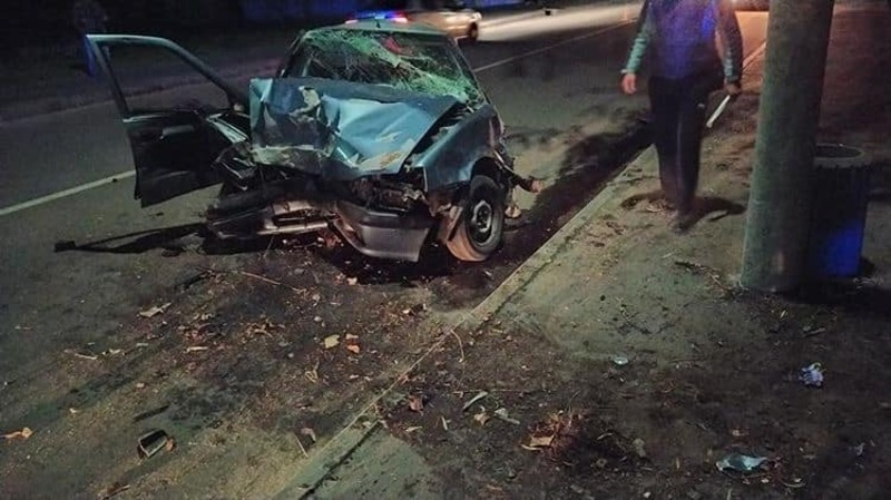 Аварія сталася на вулиці Лесі Українки
