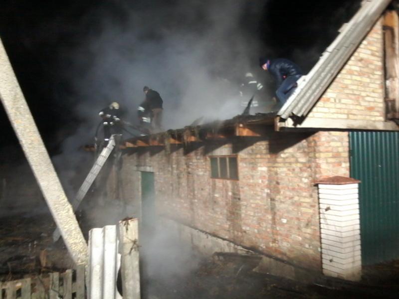 Пожежа сталася через неправильну експлуатацію пічного опалення.