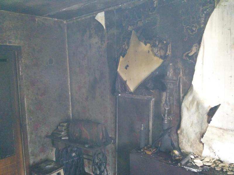У Шепетівці згоріла квартира