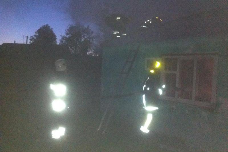 Гасіння пожежі ускладнювалось великим горючим навантаженням