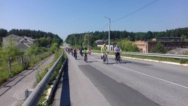 У Шепетівці відбувся велопробіг