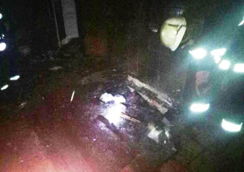 Внаслідок пожежі у житловому будинку загинула людина