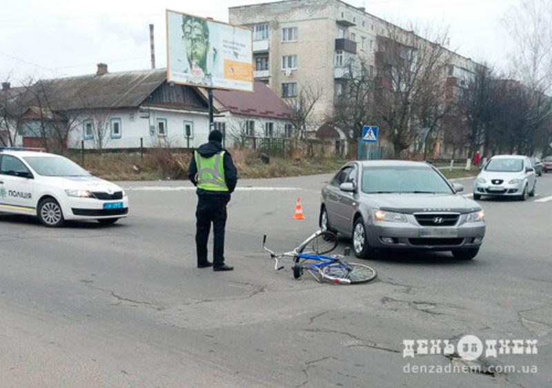 Аварія сталася на перехресті проспекту Миру та вулиці Валі Котика
