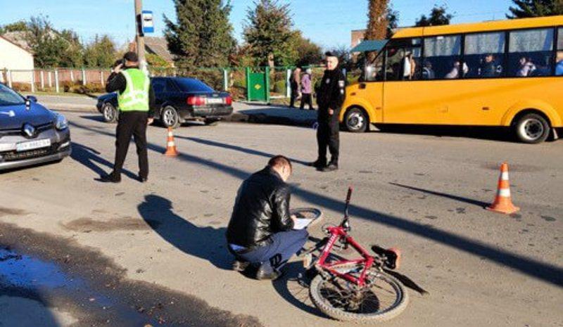 Аварія сталася у Шепетівці на вулиці Судилківській