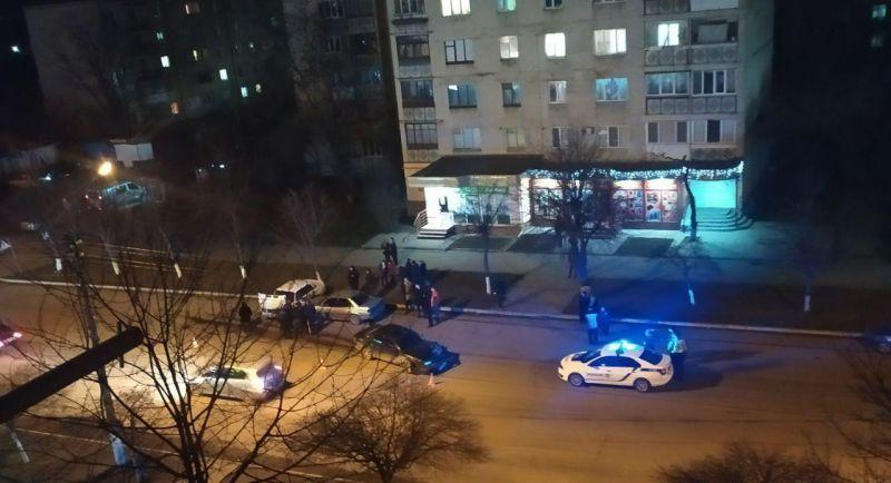Аварія сталася неподалік перехрестя проспекта Миру та вулиці Чкалова