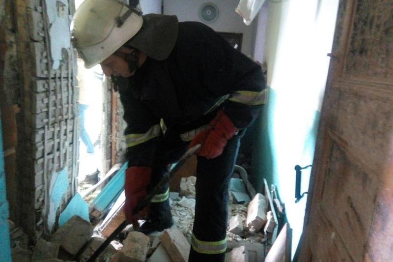 ВИбух стався у житловому будинку, на другому поверсі.