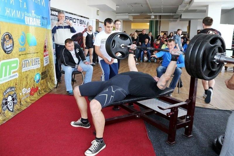 Кубок Поділля з жиму лежачи та тяги відбудеться у Шепетівці