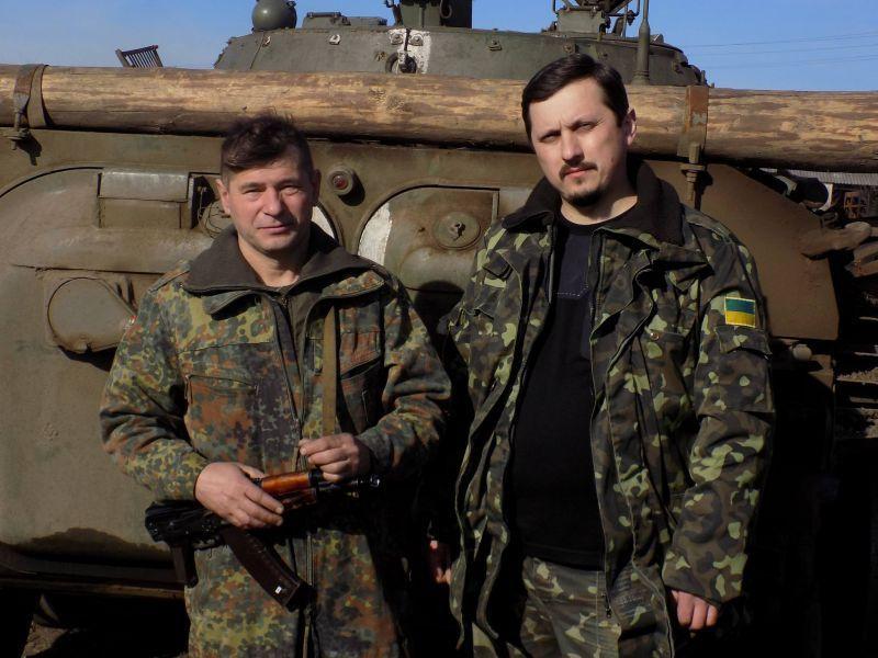 Володимир Шевчук зліва