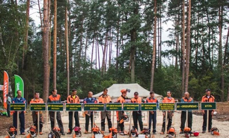 Змагання вальників лісу відбувались у п\'ять етапів
