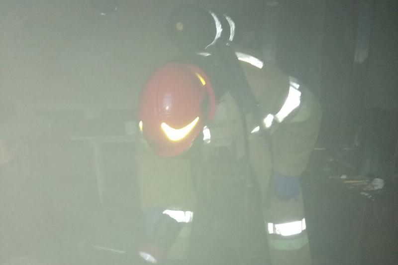 Під час ліквідації пожежі житлового будинку вогнеборці врятували 55-річного чоловіка