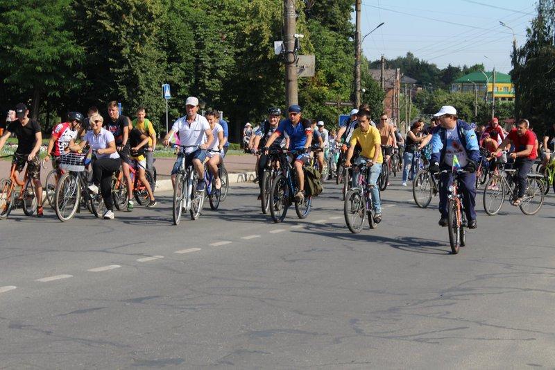 Велосипедисти подолали понад 20 кілометрів.