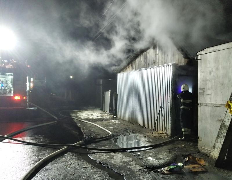 Люди під час пожежі не постраждали