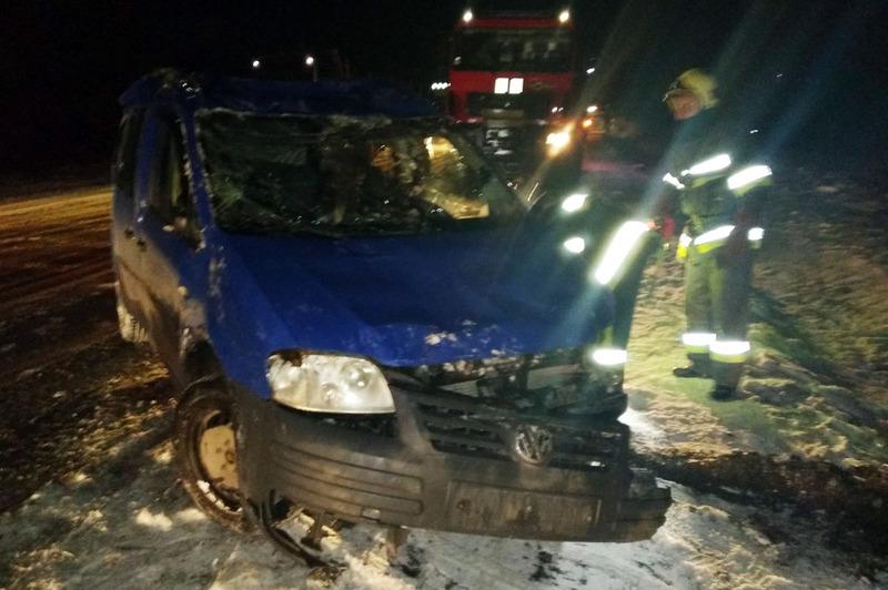 ДТП сталася на автодорозі поблизу села Цвітоха Славутського району
