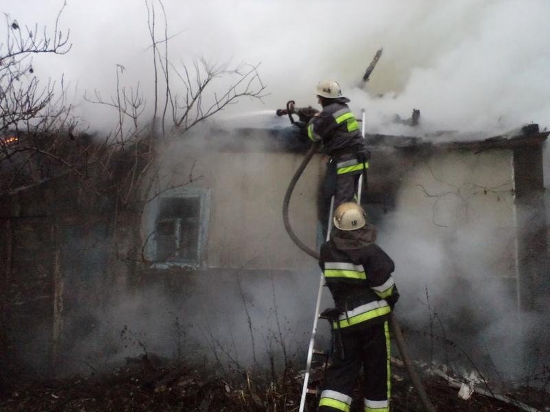 Пожежа виникла внаслідок порушення правил пожежної безпеки під час експлуатації пічного опалення