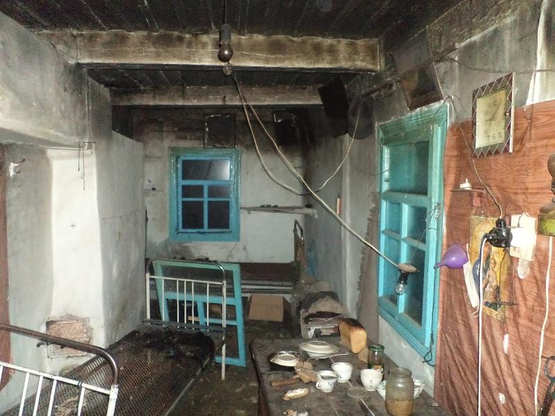 Під час ліквідації пожежі житлового будинку рятувальники виявили тіло літньої жінки